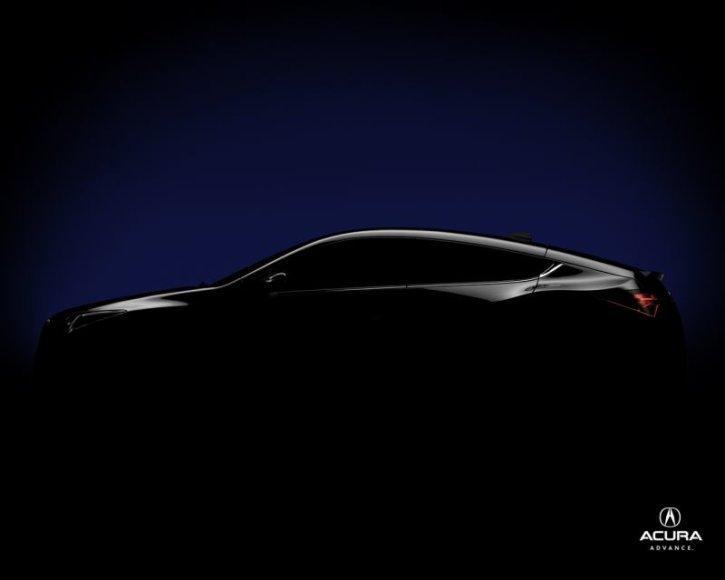 """""""Acura"""" ruošia naują modelį"""