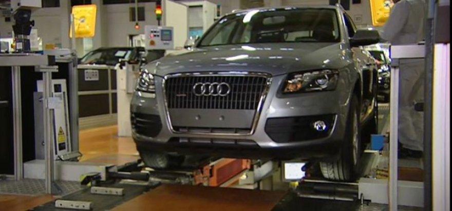 "Ekskursija po ""Audi"" gamyklą"
