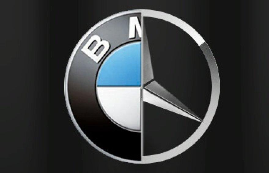 """BMW ir """"Daimler"""" planuoja bendradarbiauti?"""