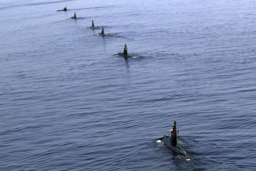 Irano povandeniniai laivai