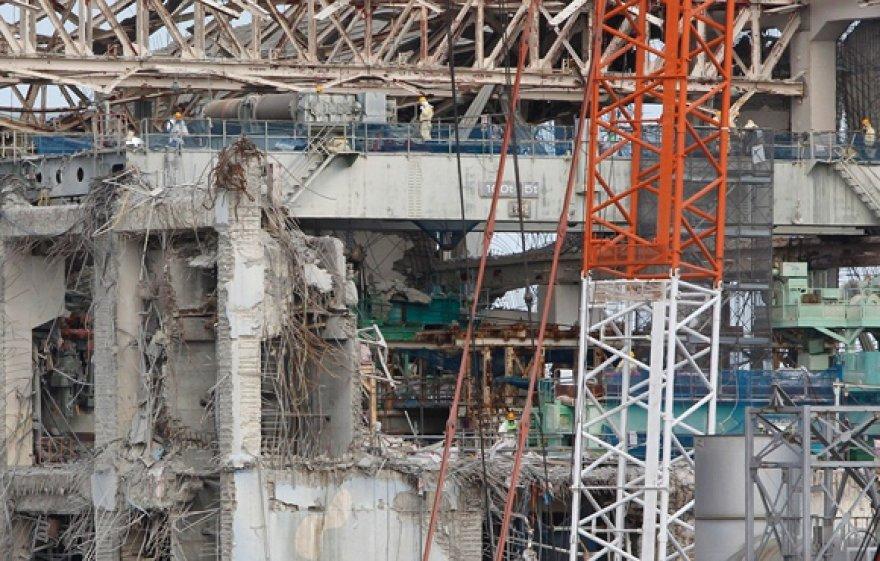 Fukušimos-1 atominės elektrinės 4-ojo reaktoriaus pastatas