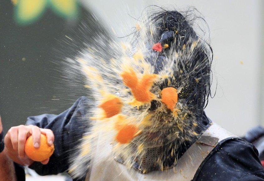 Apelsinų mūšis Italijoje