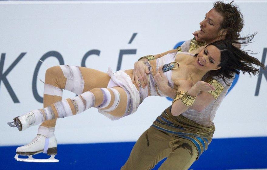 Prancūzai Nathalie Pechalat ir Fabianas Bourzatas