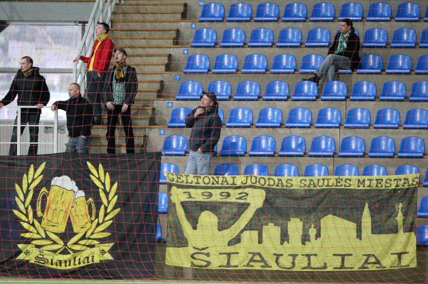 Šiaulių futbolo sirgaliai