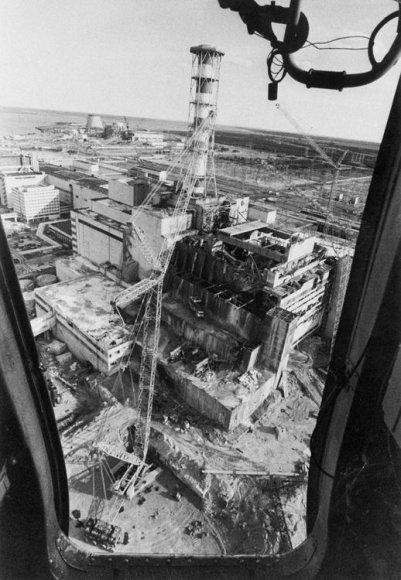 Černobylio atominė elektrinė (1986 m. gegužė)