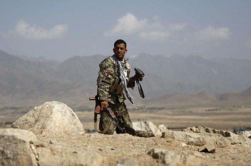 Afganistano armijos karys