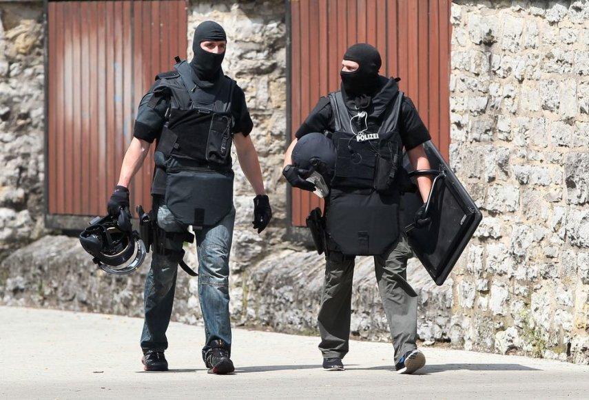 Vokietijos policininkai