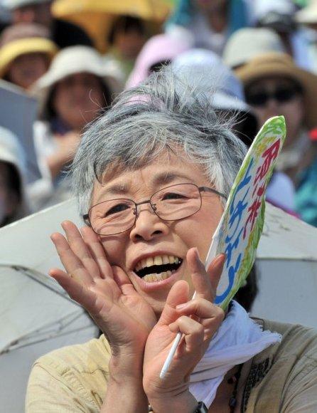 Protestas prieš branduolinę energetiką