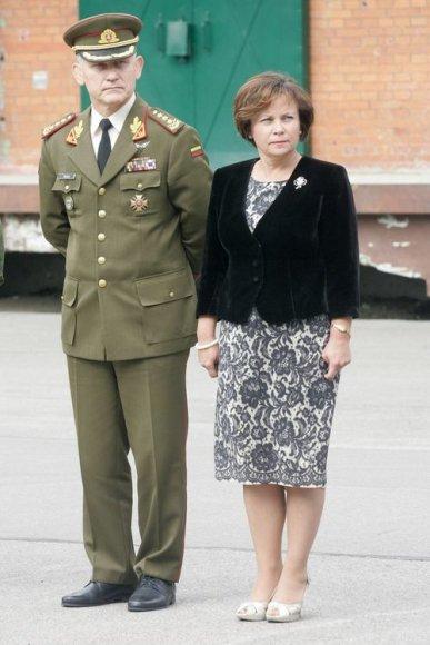 Arvydas Pocius ir Rasa Juknevičienė