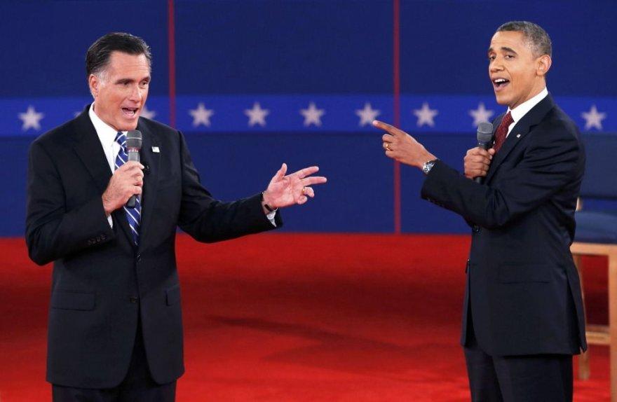 Mittas Romney ir Barackas Obama