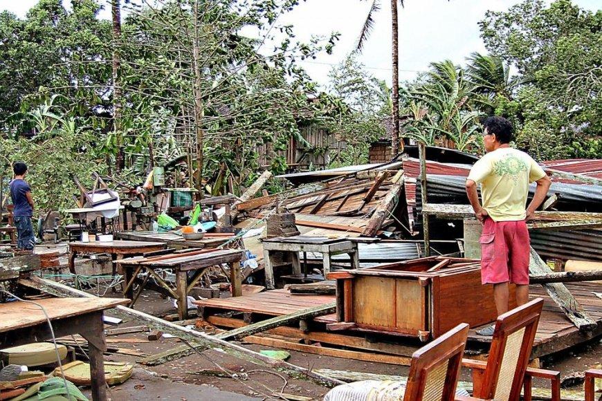 Taifūno padariniai