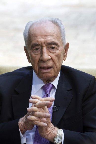Izrealio prezidentas Shimonas Peresas