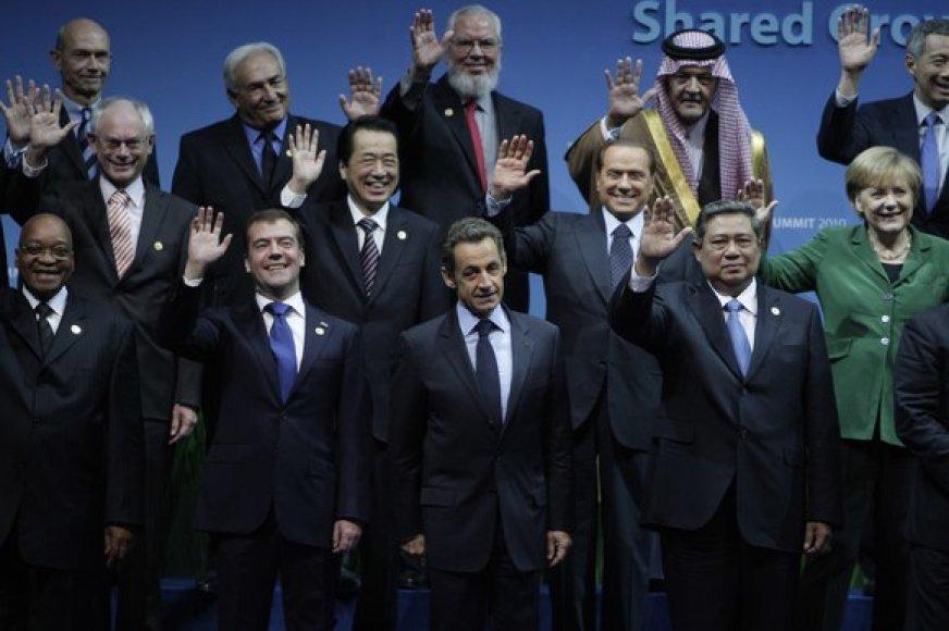 Pasaulio lyderių fotosesija