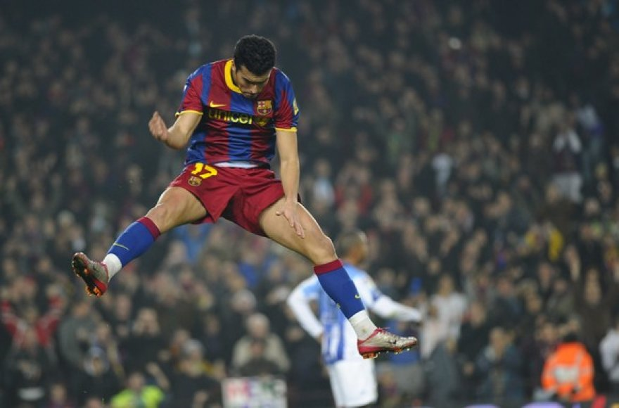 Barselonos klubo fanai su nekantrumu laukia kito savaitgalio