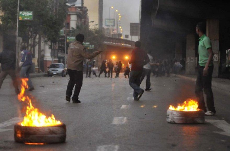 Demonstrantai