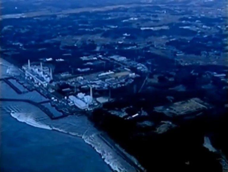 Cunamio bangos ritasi link Fukušimos-1 atominės elektrinės.