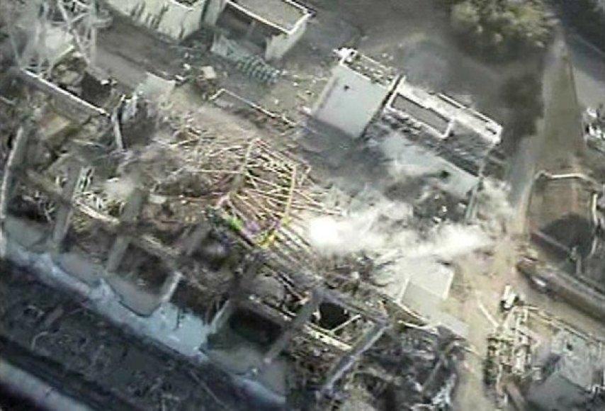 Trečiasis Fukušimos-1 atominės elektrinės reaktorius