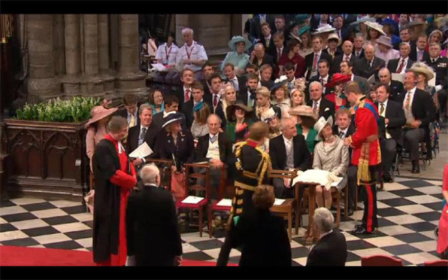 Princas Williamas Vestminsterio abatijoje