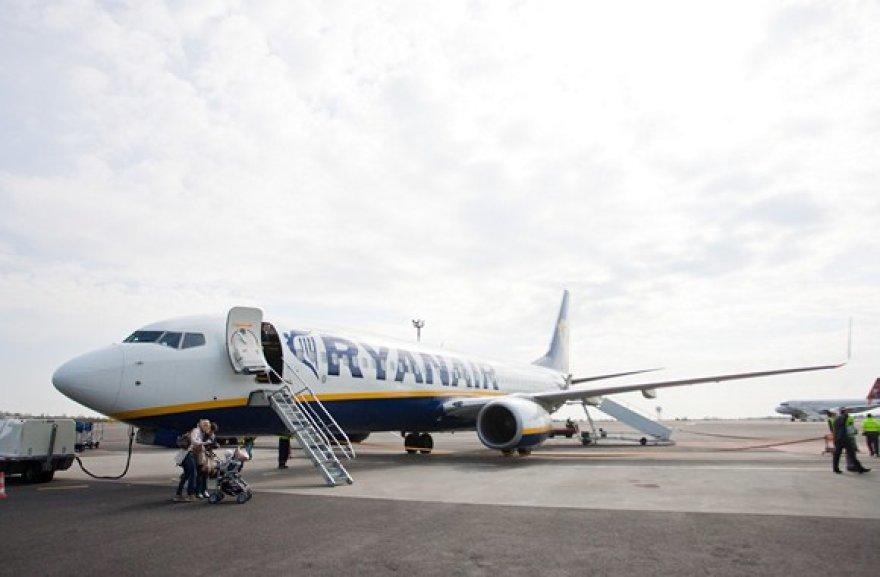 """""""Ryanair"""" kompanijos lėktuvas"""