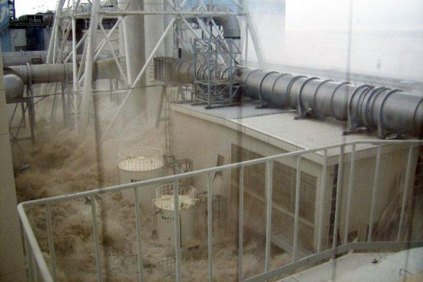 Vanduo Fukušimos-1 atominės elektrinės teritorijoje