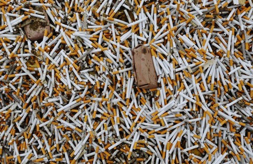 Cigaretės, kurios bus sunaikintos