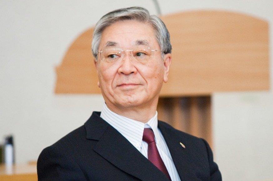 """""""Hitachi"""" prezidentas Hiroaki Nakanishi"""