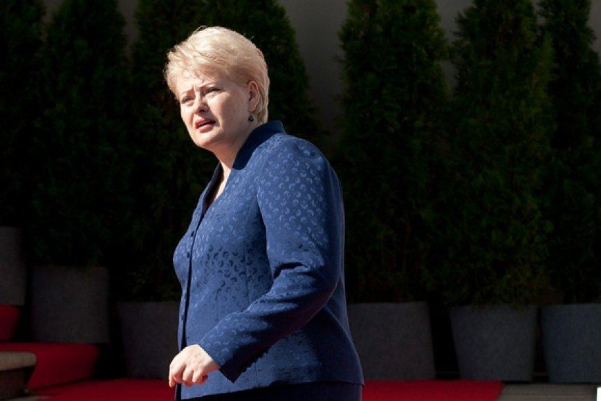 Prezidentė Dalia Grybauskaitė