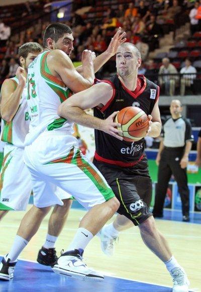 Nikolay Varbanovas (kairėje) ir Christophe'as Beghinas
