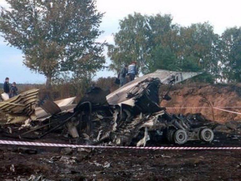 Rusijoje sudužo lėktuvas Jak-42