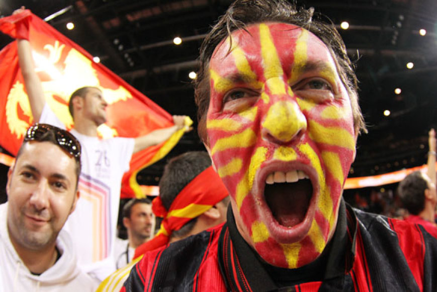 Makedonijos krepšinio gerbėjas