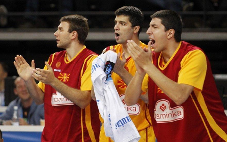 Makedonijos krepšininkai