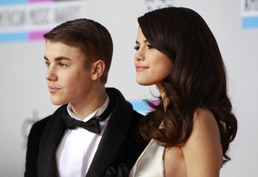 Justinas Bieberis ir Selena Gomez