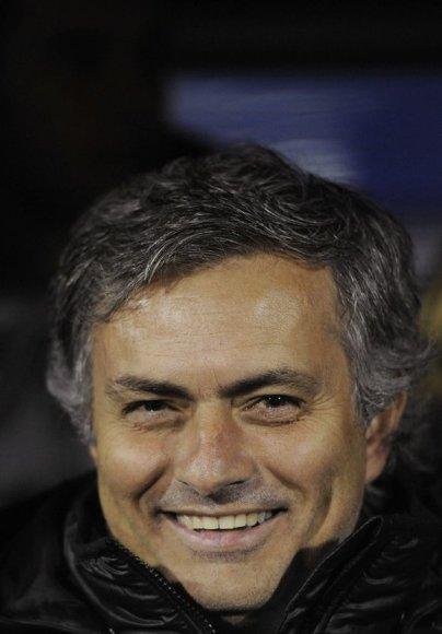 """Madrido """"Real"""" treneris Jose Mourinho"""