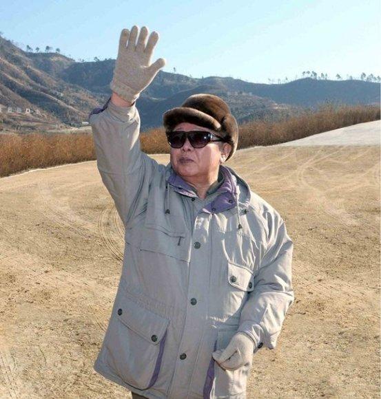 Šiaurės Korėjos lyderis Kim Jong-Ilas
