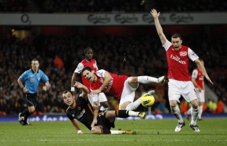 """Londono """"Arsenal"""" žaidėjai"""