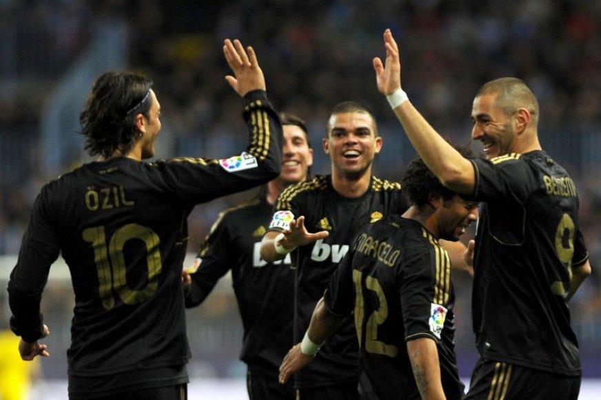 Madrido futbolininkai