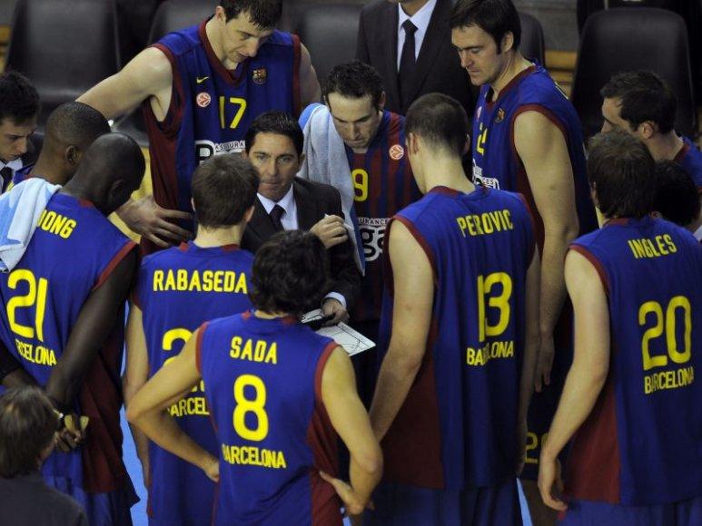 Barselonos ekipa yra pirma H grupėje