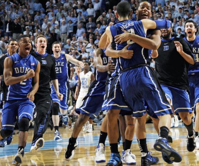 Duke'o pergalės džiaugsmas
