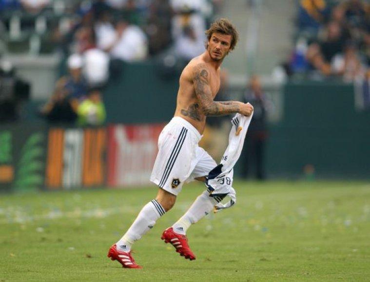 D.Beckhamas nori grįžti į rinktinę