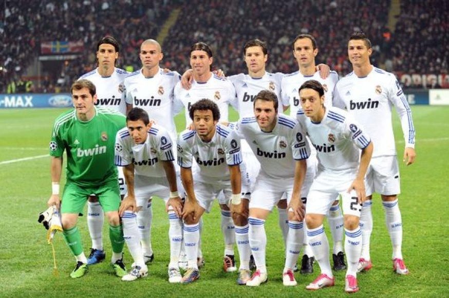 Karališkasis Madrido klubas įsitvirtinęs pirmoje grupės vietoje