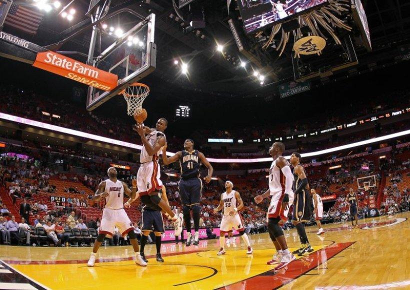 """""""Heat"""" patyrė 6 pralaimėjimą po 14 mačų"""