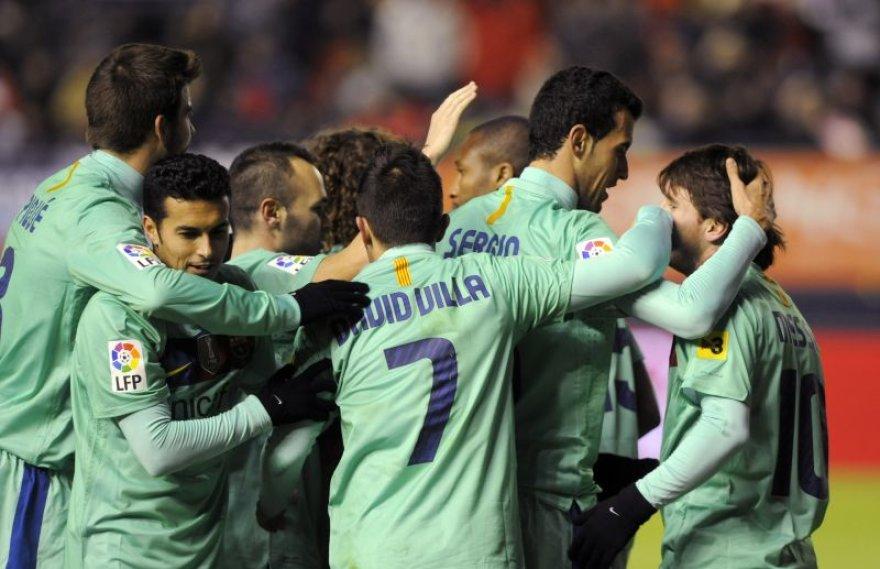 Barsos futbolininkai šventė lengvą pergalę