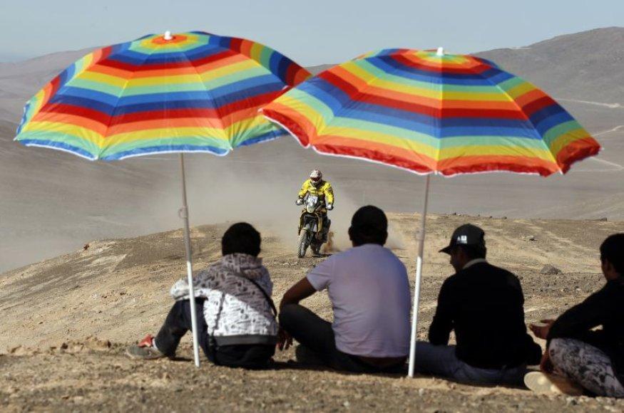 Aštuntasis Dakaro ralio greičio ruožas