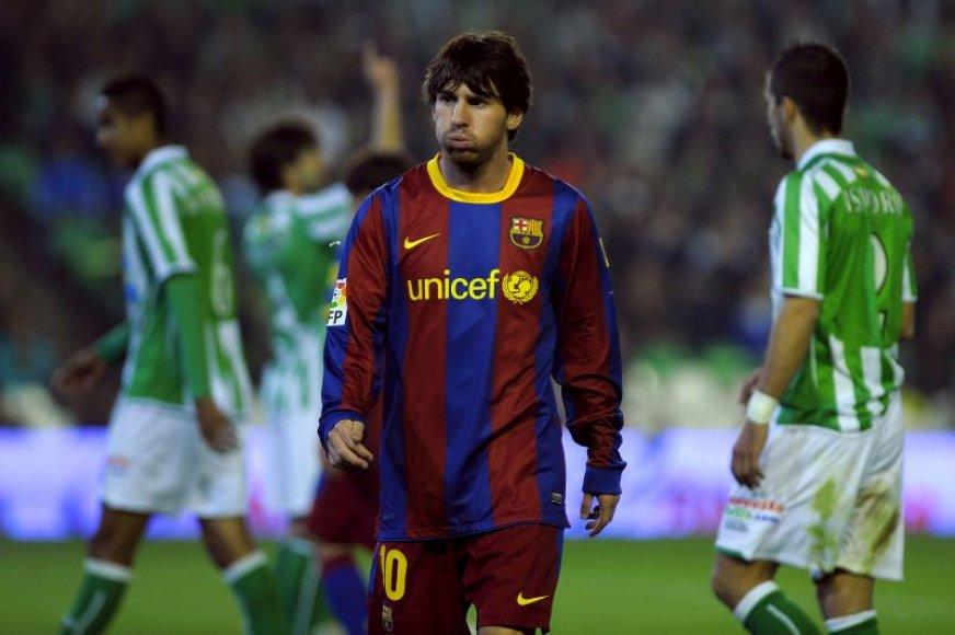 Nusivylęs L.Messi