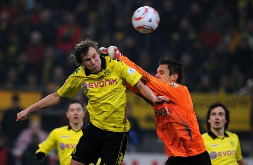 Dortmundo futbolininkai mačą baigė lygiosiomis
