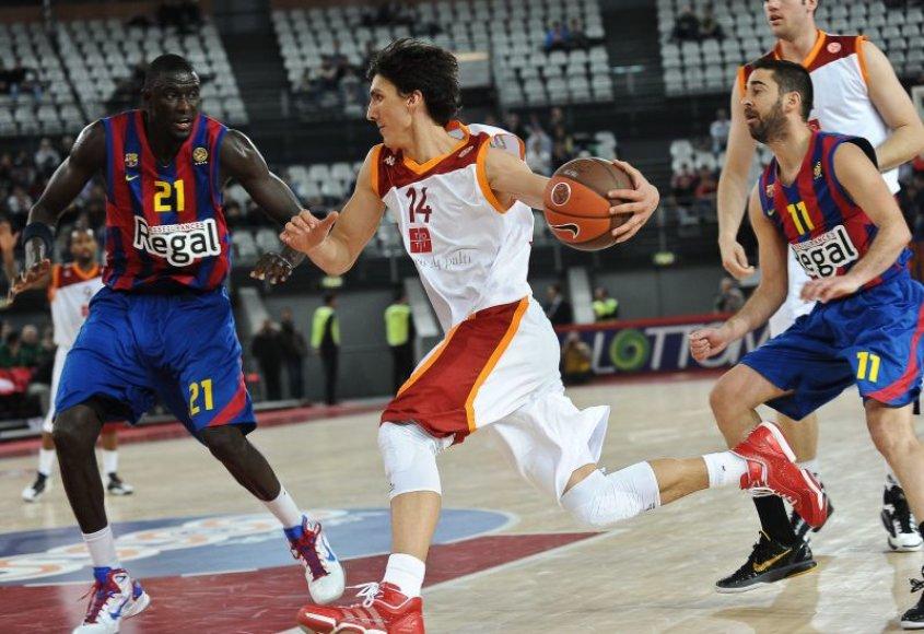 Barselonos krepšininkai pateko į kitą etapą.
