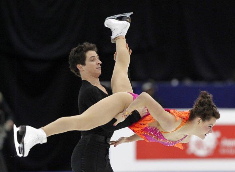Tessa Virtue ir Scottas Moiras keturių kontinentų čempionate
