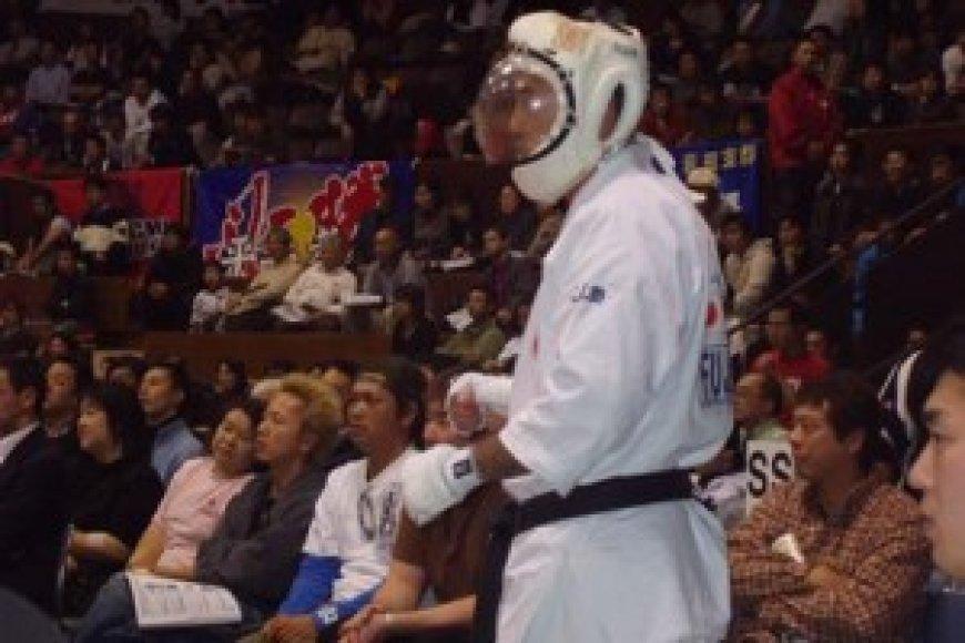 Kudu kovotojas garsina Lietuvos vardą tarptautinėje arenoje.