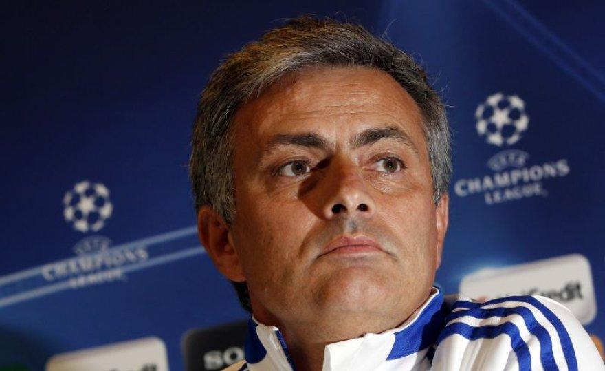 Jose Mourinho sieks komandą atvesti į stipriausiųjų aštuntuką.