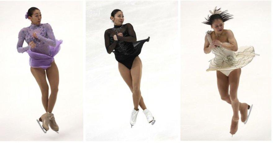 Dailiojo čiuožimo lyderės